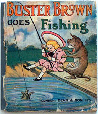 buster brown goes fishing book