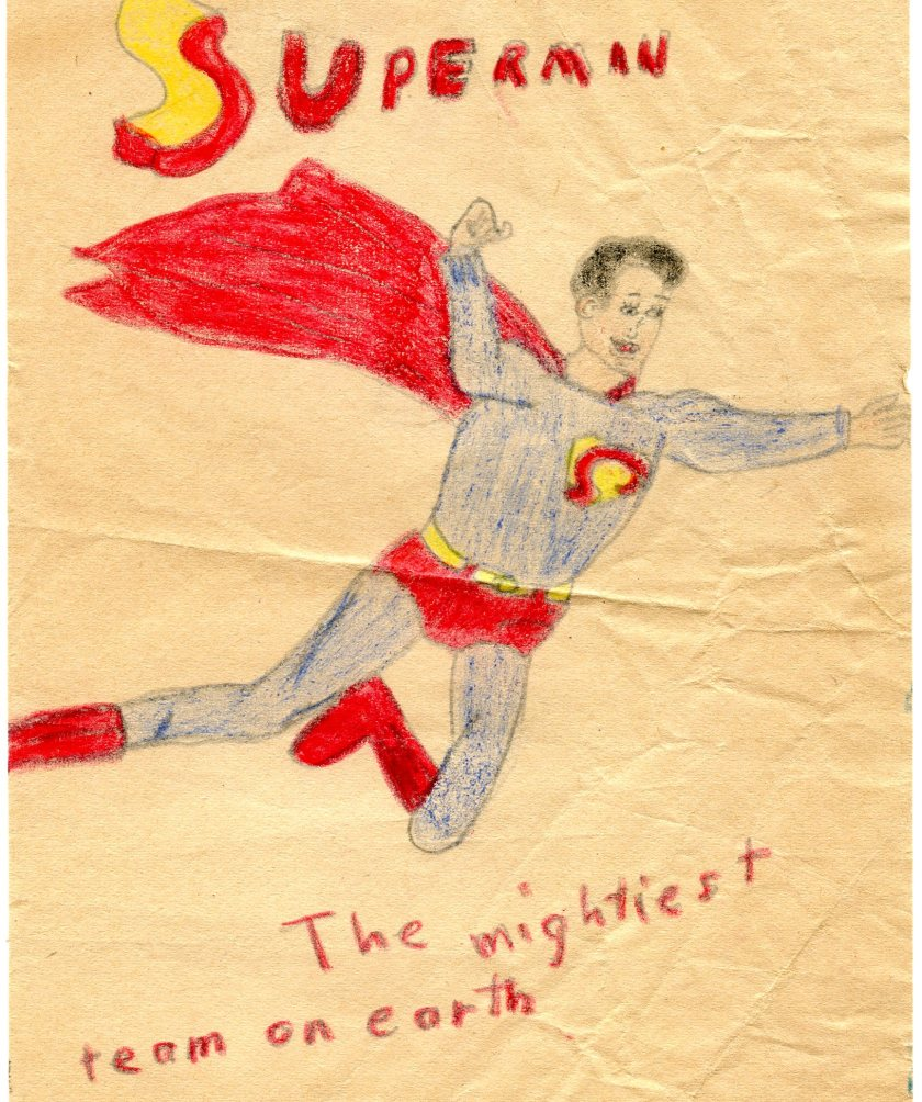 superman by mom